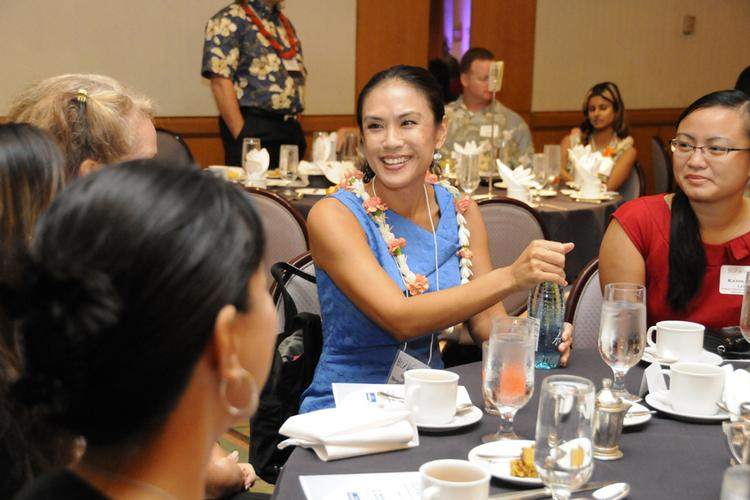 Chamber of Commerce of Hawaii President and CEO Sherry Menor-McNamara, seen in this recent file photo, said the organization plans to lead an effort to position Hawaii for international business opportunities.