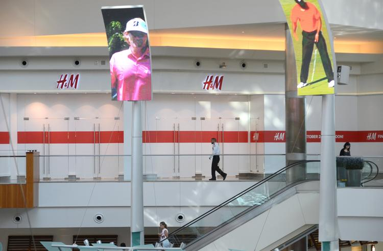 H&M took over the former Forever 21 space on the second level of the Mall at Millenia.
