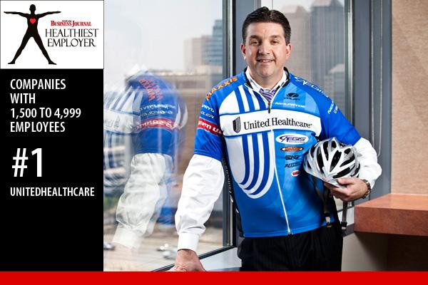 David Milich, CEO of UnitedHealthcare, started cycling about six months ago, and it is now his primary source of exercise. He has his first two rides coming in April -- Ride 2 Recovery and the MS 150.