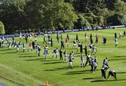 Jacksonville Jaguars hold their practice at Pennyhill Park Hotel, Bagshot. Twenty miles southwest of London. The San Francisco 49ers are to play the Jacksonville Jaguars in game two, of the NFL International Series at Wembley Stadium in London on Sunday, October 27.  23/10/13, photo: Sean Ryan /NFL mobile: 07971 400 939 Address: 11 Botley Road, Park Gate, Southampton Hants S031 1AH UK  tel +44 (0)1489 579109