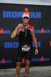 Miguel de Arcos in the Louisville, Ky., Ironman