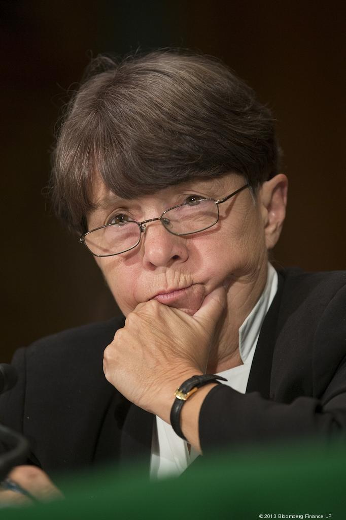 SEC Chairman Mary Jo White didn't come on board until April, one reason why the agency's rulemaking process was so slow this year.