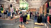 A rendering of the inside of the Under Armour Brand House at Tysons Corner.