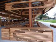 The interior of G8Way DC is heavily wooden, for the warmer feel, as opposed to steel.
