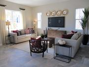 This living room of one the models in Pulte Homes' Orinda Grove.