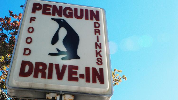 The Penguin Drive-In is located at Commonwealth and Thomas avenues in Plaza-Midwood, one of Charlotte's more colorful neighborhoods.