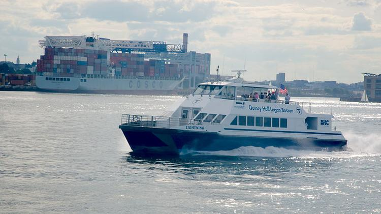 The success of the South Shore ferry service from Hingham helped inspire the launch of the Lynn ferry.