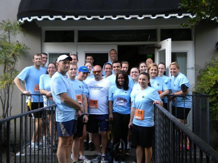 Averett Warmus Durkee sponsors employees to do 5k runs.