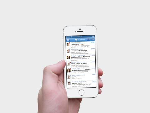 Cureatr, which provides secure group text messaging  for doctors, has secured $5.7 million in financing.