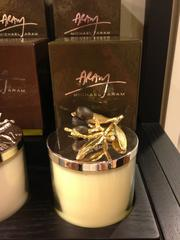 Candles also make great gifts, Aram said, and this olive scented candle is more masculine.