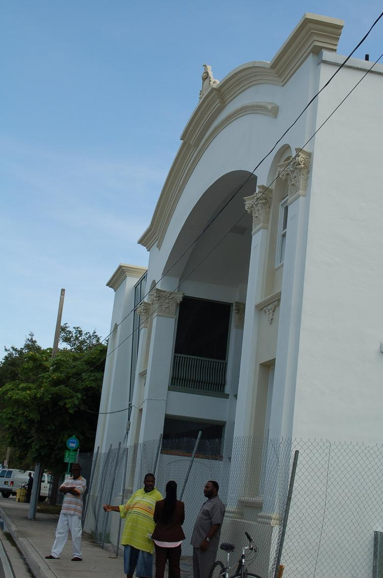 The Lyric Theater in Overtown is the cornerstone of an effort of Miami-Dade County Commissioner Audrey Edmonson and Miami Commissioner Michelle Spence-Jones to pump private dollars into the community. Both the county and the city's CRA recently approved a pair of projects that would help spur that vision forward through commercial development.