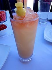 A Charlie Chan refreshing mocktail