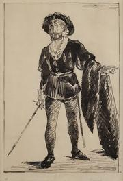 Edouard Manet: Faure in Role of Hamlet