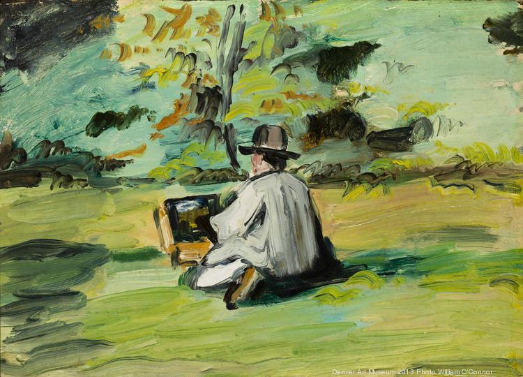 "Paul Cezanne's ""A Painter At Work"" is one of the works philanthropist Frederic C. Hamilton is donating to the Denver Art Museum."