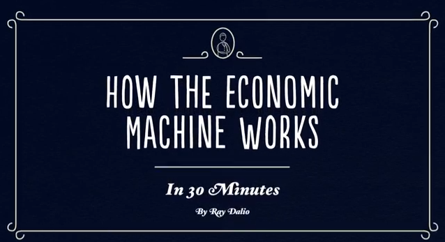 A video by Ray Dalio attempts to make the economy easy to understand.