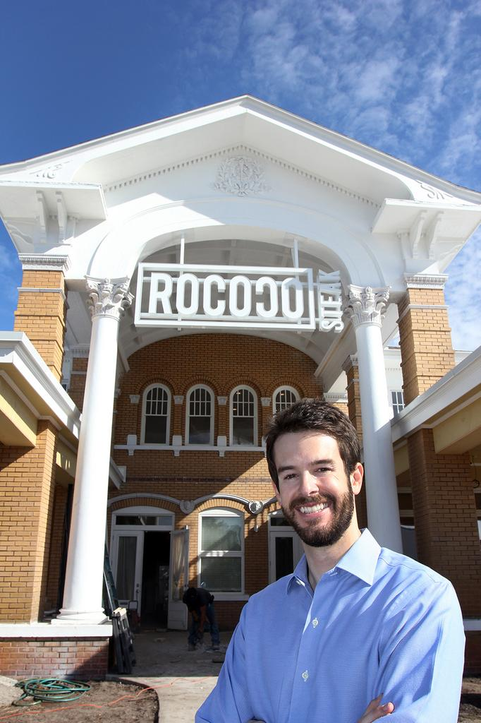Caledon Concept Partners CEO Joe Orsino at the Rococo Steak site in St. Petersburg.
