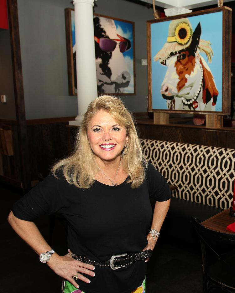 Joanie Corneil, CEO of Square 1 Burgers & Bar