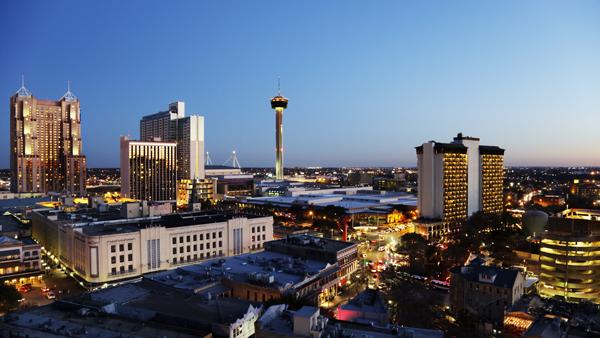 The outlook on San Antonio's economy is rosy over the next year.