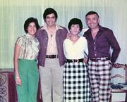 Ricardo Torres with family in 1974.