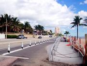 New wheelchair ramp along State Road A1A in Fort Lauderdale.