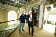 The Special Report this week is Banking 2.0, featuring Paragon Bank in the main story. Paragon is upfitting 6337 Morrison Blvd. for its new Charlotte home. Here, market President Phil Jurney and Herb Middleton, Tyler 2 Construction's superintendent on the project, walk through the site.