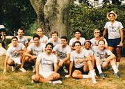 Ricardo Torres in 1985 with PepsiCo co-workers in New York.