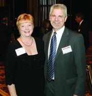 Award winner Donna Galbraith, R.N., of UPMC Passavant and her husband, Charles Galbraith of CGMA Confluence Technologies
