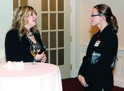 Terri Deasy, left, of Flying Cork Media and Lindsay Petrosky of Jackson Kelly PLLC