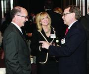 Butler Health System's Thomas McGill, M.D., left, Jana Panther and Kevin Stansbury