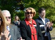 Ann McGee of Seminole State College attended the groundbreaking.