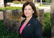 Judith A. Salerno, M.D., President and CEO of Susan G. Komen took over during a period of controversy for the Dallas-based breast cancer awareness organzation.