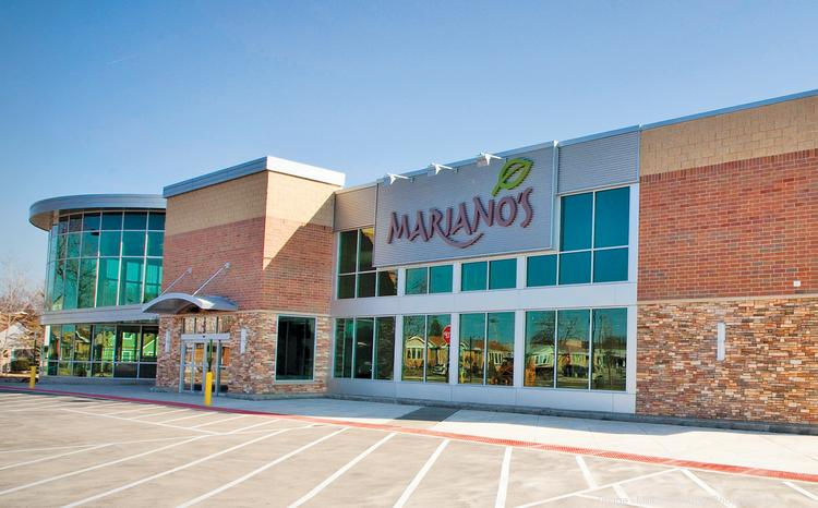 Mariano's Fresh Market store in Harwood Heights, Ill.