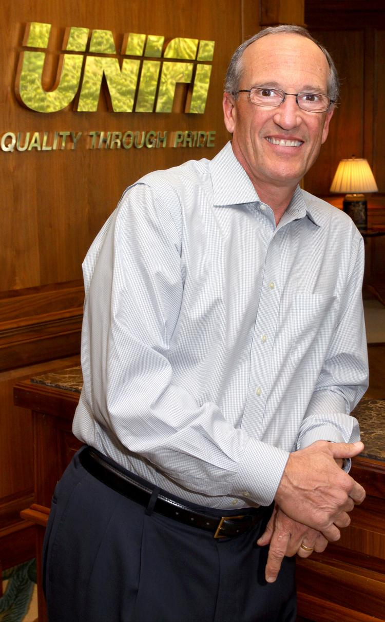 Bill Jasper is the CEO of Greensboro-based Unifi Inc., which has been selected as one of Duke Energy's 2013 Power Partners.