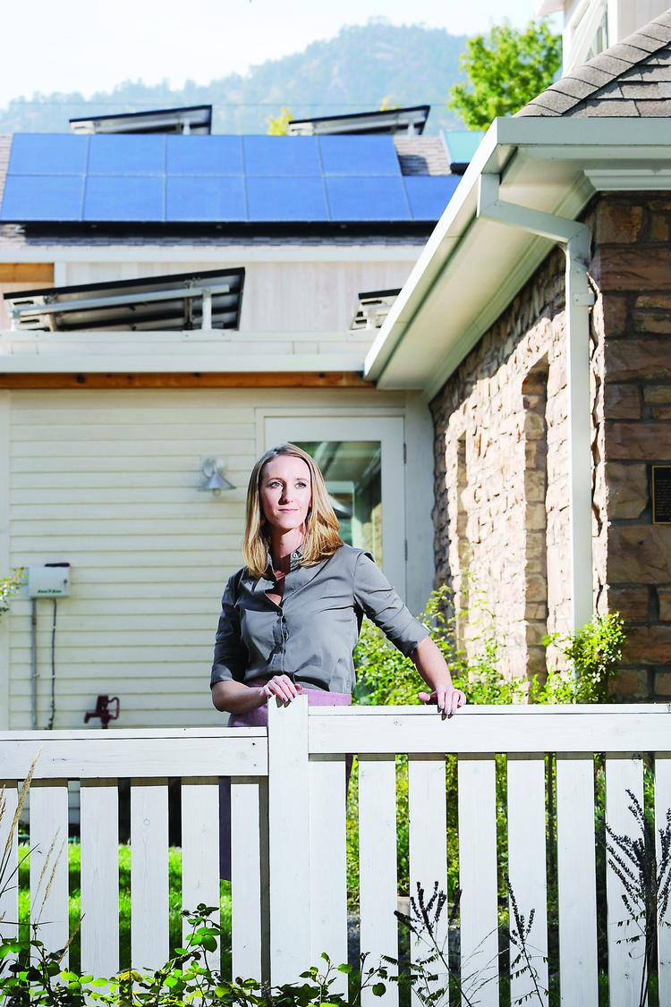 Annie Lappe' is solar policy director at The Vote Solar Initiative in Boulder.