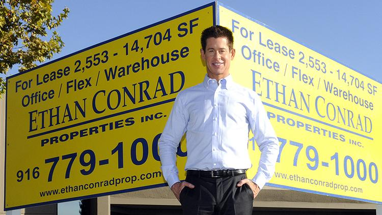 Real estate investor Ethan Conrad says he may eventually develop 16 acres he recently bought on the West Sacramento riverfront, possibly as high-density residential --  but it's not going to be easy.