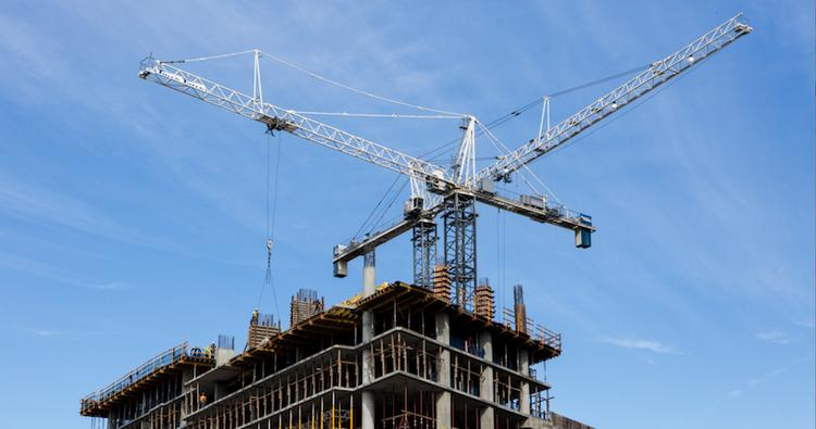 At least a dozen tower cranes are in operation in Austin's Central Business District with more installed at suburban sites.