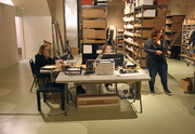 The online retail of the arm of Wildfang operates at the back of the store.