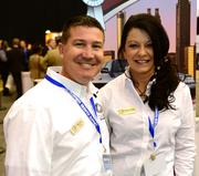 Chad Casey, president of Casey Corporate Transportation, and Pamela Railey, with Casey Corporate Transportation.