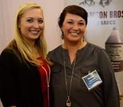 Michelle Jehlen and Heather Layman with Williamson Bros. BBQ.