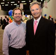 Eric Garvey with Jekyll Island Authority and Armand Vari with Jacoby Development Inc.