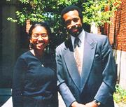 Dr. Jenel Wyatt with mentor Dr. Carson.