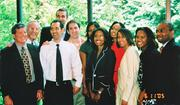 Jenel Wyatt (center with glasses) with residency class in June 2005.