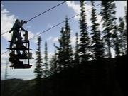 We were doing a story on the Wallowa Gondola in Joseph OR. The maintenance guy rides a special platform contraption up the cable so he can work on all of the pulleys on the towers. I was riding on the upper level of this platform and facing downhill as we were traveling uphill. I was busy getting the shot when all of a sudden a set of the wheels came whizzing right by my head. It was a matter of inches and I would have certainly been seriously harmed, if not killed. OSHA saw that story on the air and paid the gondola a visit a short time later.