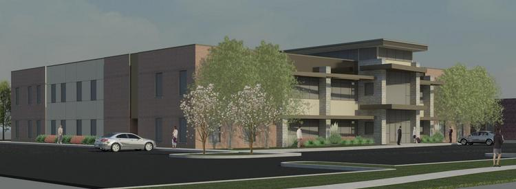 MKEC will construct a 16,000-square-foot building to the south of its office at the southwest corner of Webb and Central.