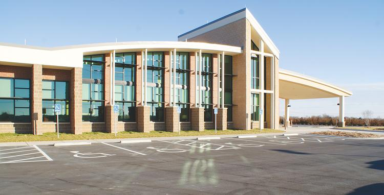 Surgicare of Wichita LLC opened in February at its new location near K-96 and Greenwich Road.