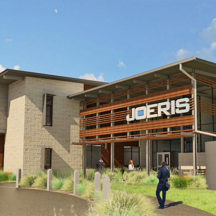 Joeris General Contractors' new headquarters will give the growing firm some needed elbow room.