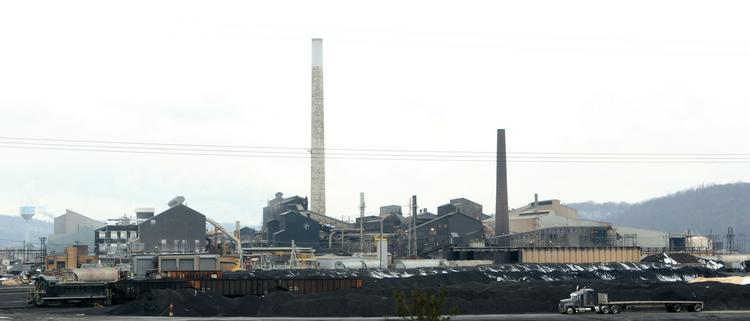 The Horsehead Holding Corp. (Nasdaq: ZINC) zinc smelter in Potter Township.