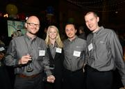 Left to right: Bjorn Stansvik, Corrin Condon, Nick Curran and Brian Buchkosky of MentorMate
