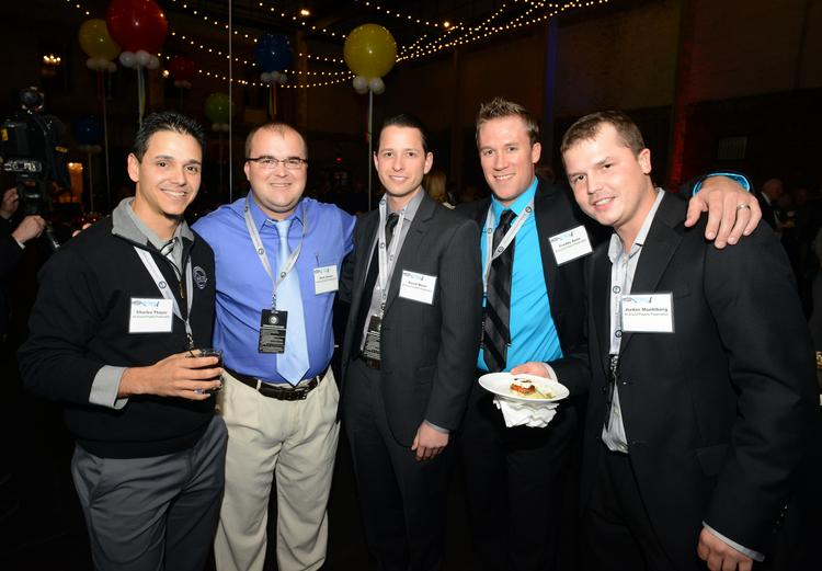No. 1 Fast 50 winner All Around Property Preservation employees (left to right) Charles Thayer, Nick Zeman, David Moon, Freddy Deen and Jordan Muehlberg