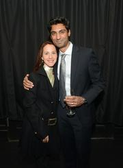 Sahil Merchant, Director Of Marketing for Outsell and his wife, Kelly Merchant, employment consultant at Kaposia.